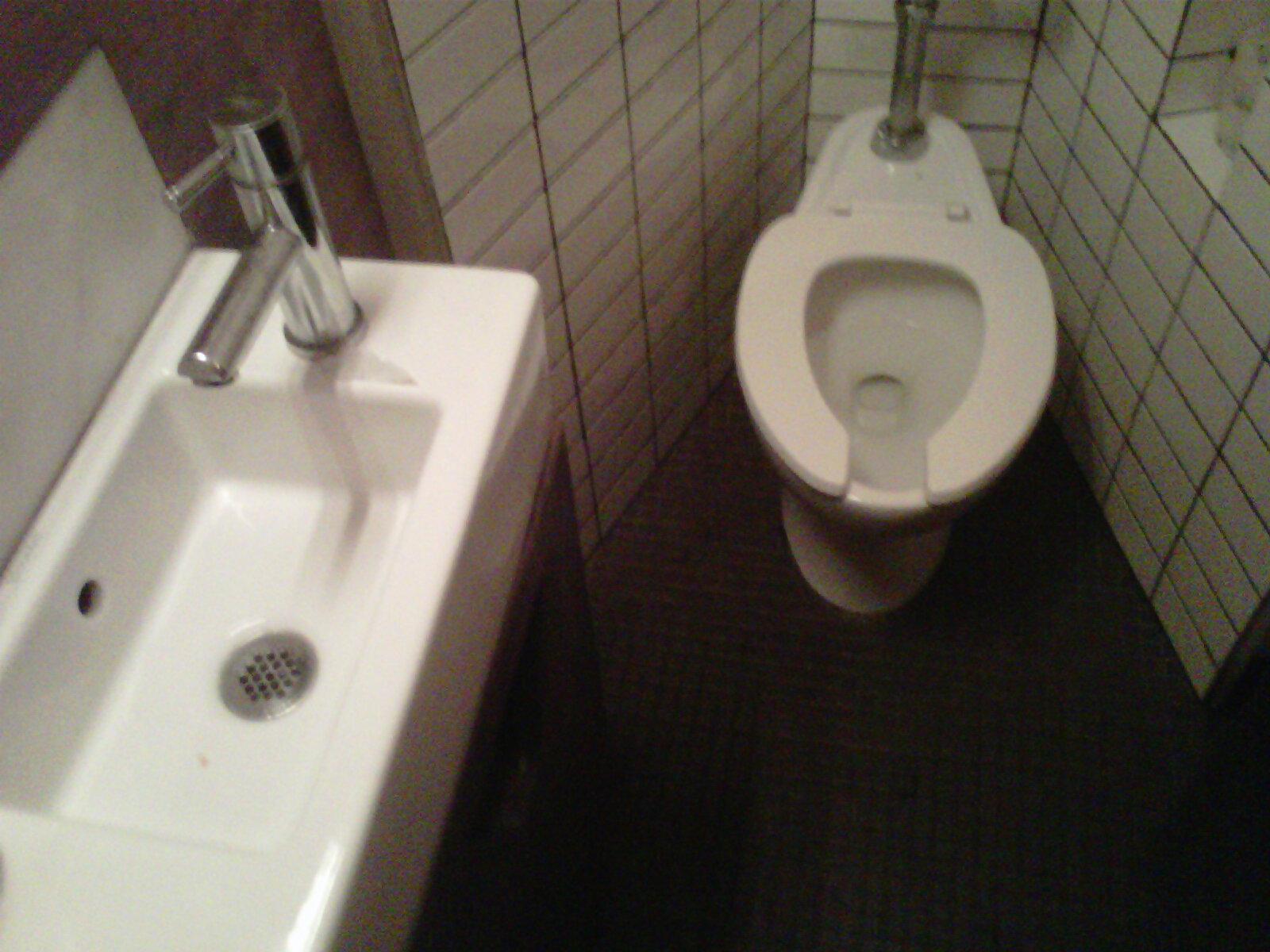 nyc bathrooms. focus on boqueria   onechicklette