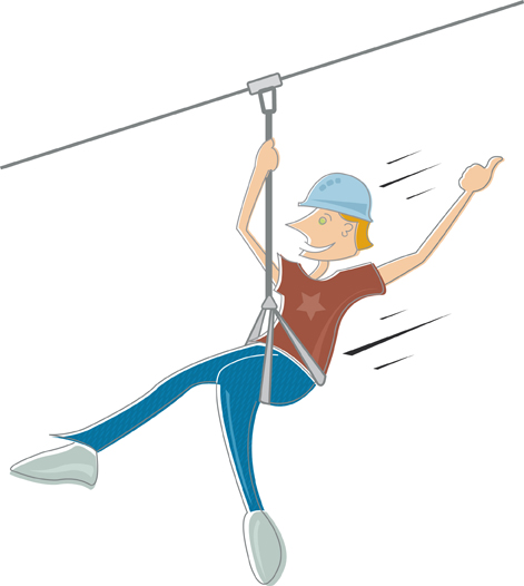 Line Drawing Zip : My nyc to do list item zip line in onechicklette