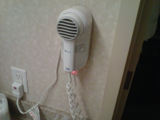 evil little hair dryer