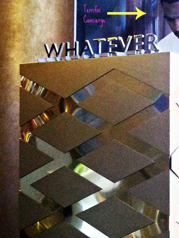 NO Whatever