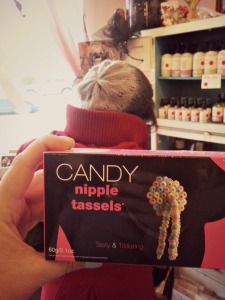 Candy tassels
