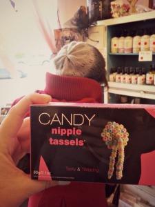 Candy tassels