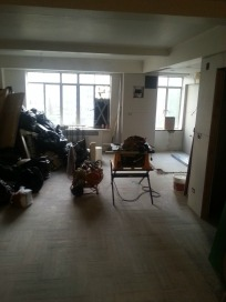 Actual apartment with reno in progress