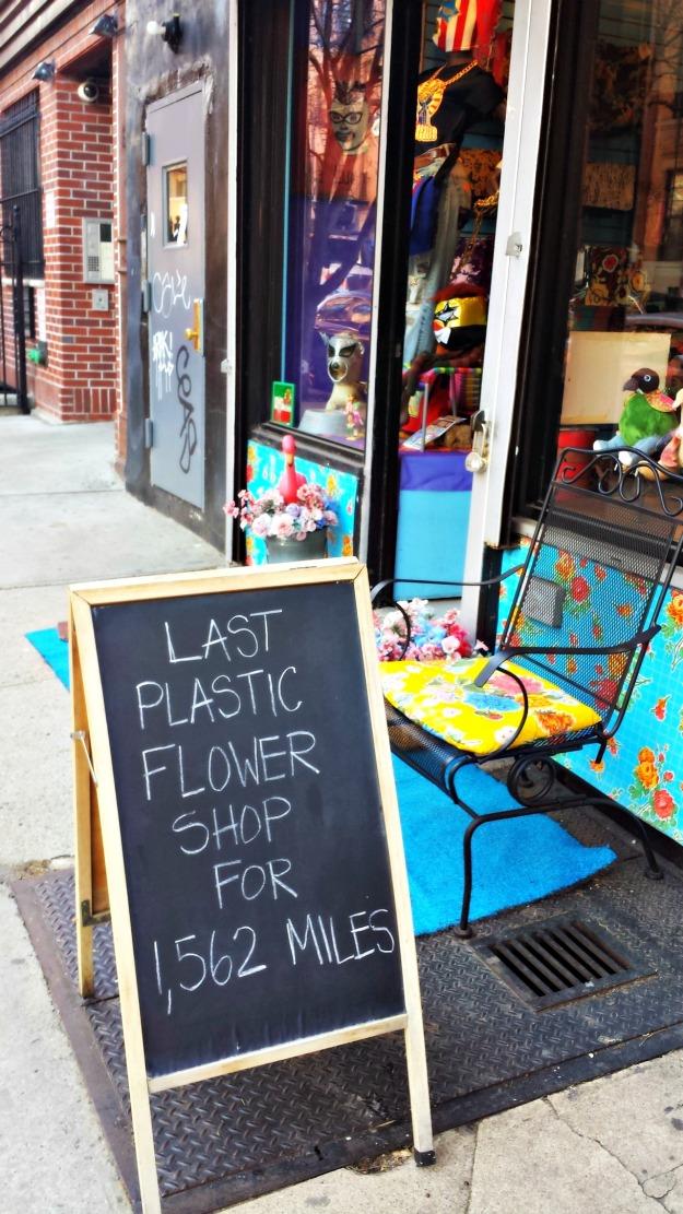 Plastic Flower Shop