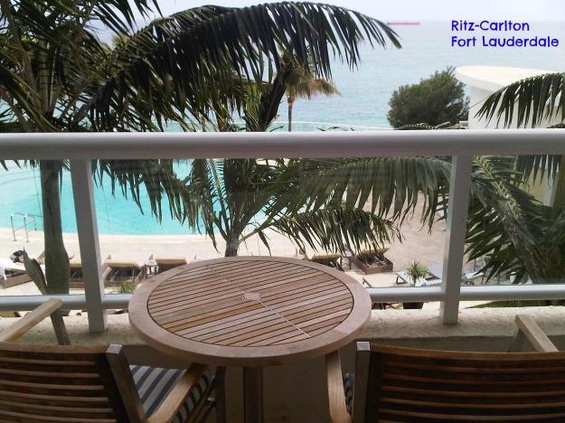 Fort Lauderdale balcony