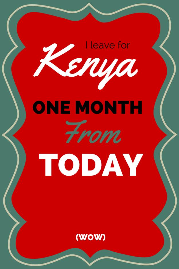 Kenya countdown