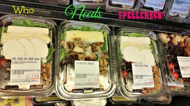 Salad spellcheck