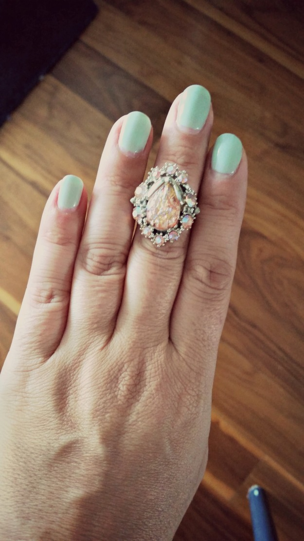 Flea ring dusk 20140803_153925